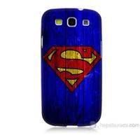 Teknomeg Samsung Galaxy S3 Kapak Kılıf Superman Baskılı Silikon