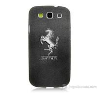 Teknomeg Samsung Galaxy S3 Kapak Kılıf Ferrari Baskılı Silikon