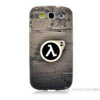 Teknomeg Samsung Galaxy S3 Kapak Kılıf Half Life Baskılı Silikon