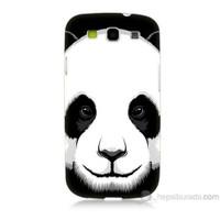 Teknomeg Samsung Galaxy S3 Kapak Kılıf Panda Baskılı Silikon