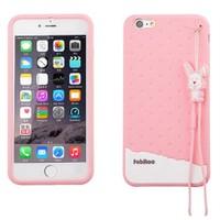Fabitoo Apple iPhone 6 Candy Kılıf Pembe