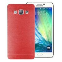 Microsonic Samsung Galaxy A8 Kılıf Hybrid Metal Kırmızı