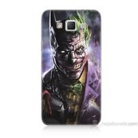 Teknomeg Samsung Galaxy Grand Max Kapak Kılıf Joker Vs Batman Baskılı Silikon