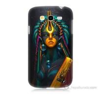 Teknomeg Samsung Galaxy Grand Neo Kapak Kılıf İllustrations Resim Baskılı Silikon