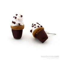 Solfera Cupcake Şekilli Bayan Küpe