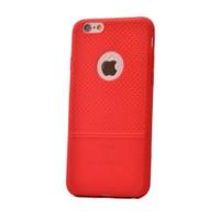 Teleplus İphone 5S Benekli Silikon Kılıf Kırmızı