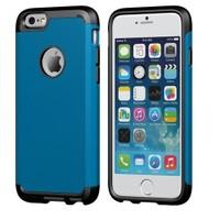 Teleplus İphone 6S Çift Katmanlı Korumalı Kılıf Mavi