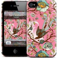Gelaskins Apple iPhone 4 Hardcase Kılıf Tail Feathers