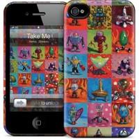 Gelaskins Apple iPhone 4 Hardcase Kılıf Take Me To Your Leade