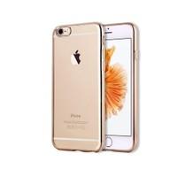 Melefoni Lazer Boyalı Silikon İphone 6/6S Kılıf Gold