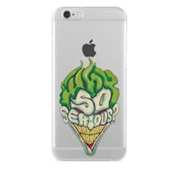 Remeto Samsung Galaxy Note 5 Transparan Silikon Resimli Joker