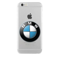 Remeto Samsung Galaxy Note 2 Transparan Silikon Resimli Bmw Logo