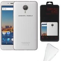Melefoni General Mobile Gm5 Plus Kılıf Ekran Koruyucu