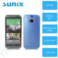 Sunix Htc Desire 816 Ultra İnce Silikon Kapak Mavi