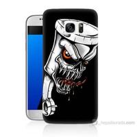 Teknomeg Samsung Galaxy S7 Kapak Kılıf Piston Baskılı Silikon
