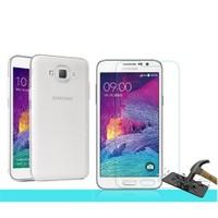 Microsonic Samsung Galaxy Grand Max Transparant Kılıf & Cam