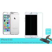"Microsonic Apple İphone 6 (4.7"") Transparent Kılıf & Film Tam Koruma Set"