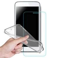 Volpawer Samsung Galaxy J2 Ekran Koruyucu Filmi + Silikon Kılıf