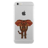 Remeto iPhone 6/6S Plus Şeffaf Silikon Resimli Bulunmaz Hint Fili