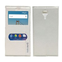 Android One Çitf Pencereli Kılıf Beyaz