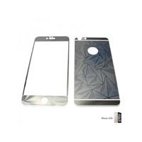Glass Apple İphone 6 / 6S Aynalı Desenli Renkli Ekran Koruyucu Film