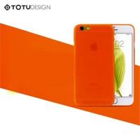 TotuDesign Apple iPhone 6 Ultra İnce Kılıf Turuncu Zero Series Apple