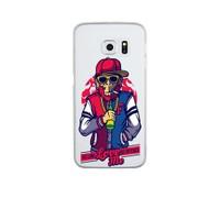 Remeto Samsung S6 Edge Silikon Harlemli Rapçi Maymun