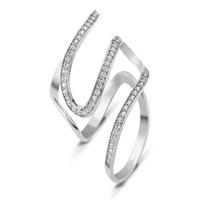 Altınsepeti Gümüş Taşlı Eklem Yüzüğü G100yz