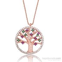 Olivin Accesories Gümüş Hayat Ağacı Kolye 432913
