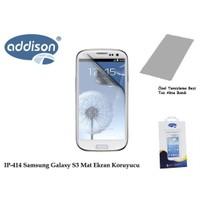 Addison Ip-414 Samsung Galaxy S3 İz Bırakmaz Ekran Koruyucu
