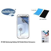Addison Ip-538 Samsung Galaxy S4 Parlak Ekran Koruyucu