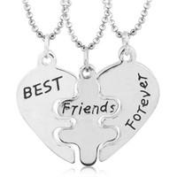 Köstebek Best Friends 3'Lü Kalp Kolye