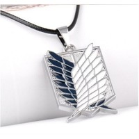 Köstebek Attack On Titan Wings Of Liberty Pendant Kolye
