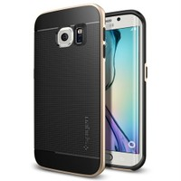Spigen Samsung Galaxy S6 Edge Kılıf Neo Hybrid Champagne Gold - 11421