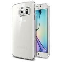 Spigen Samsung Galaxy S6 Edge Kılıf Liquid Crystal - 11478