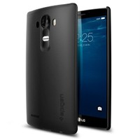 Spigen LG G4 Kılıf Thin Fit Smooth Black - 11513