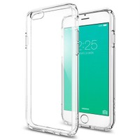 Spigen Apple iPhone 6s Kılıf Ultra Hybrid Crystal Clear-SGP11598