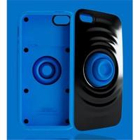 Xoopar Rıpple İphone5 Protection Case(Black Back Blue)