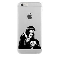 Remeto Samsung Galaxy J1 Elvis Presley Transparan Silikon Resimli Kılıf