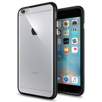 Spigen Apple 6s Plus/6 Plus Kılıf Ultra Hybrid Black - 11646