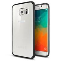 Spigen Samsung Galaxy S6 Edge Plus Kılıf Ultra Hybrid Black - SGP11715