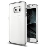 Spigen Samsung Galaxy S7 Kılıf Neo Hybrid Crystal Satin Silver - 555CS20021