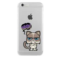Remeto iPhone 6/6S Şeffaf Silikon Resimli Bay Hayır