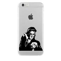 Remeto iPhone 6/6S Elvis Presley Apple Şeffaf Silikon Resimli Kılıf