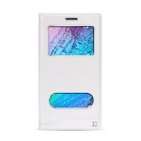 Volpawer Samsung Galaxy J2 Gizli Mıknatıslı Pencereli Kılıf