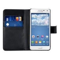 Microsonic Cüzdanlı Suni Deri Samsung Galaxy A5 Kılıf Siyah - CS150-WLT-GLX-A5-SYH