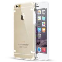 Teleplus İphone 6 Plus Bumper Yüksek Korumalı Kılıf Beyaz