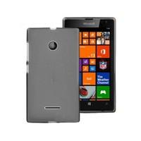 Teleplus Microsoft Lumia 532 Silikon Kılıf Siyah