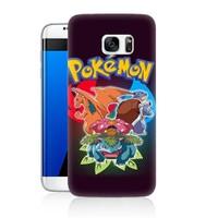 Teknomeg Samsung Galaxy S7 Kapak Kılıf Pokemon Baskılı Silikon