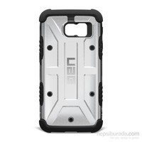 UAG Samsung Galaxy S6 Composite Kılıf-Ice/Siyah - UAG-GLXS6-ICE-W/SCRN-VP (HD Ekran Koruyucu Hediye)
